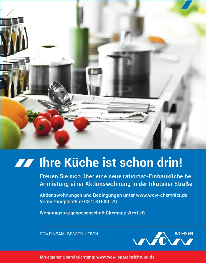 Ihre Küche ist schon drin! - WCW Chemnitz